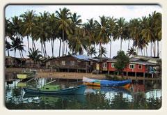 Titelbild Malaysia, Fischerdorf Marang