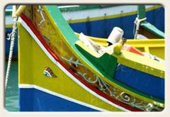 Titelbild Malta, Fischerboote